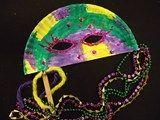 Artsonia Art Exhibit :: Mardi Gras Masks- Kinder
