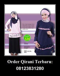 Baju Qirani atasan model 124,  Hubungi : Whatsapp : +62 812-3831-280 SMS : +62 812-3831-280 BBM : 5F03DE1D