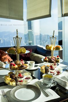 Afternoon Tea Ritz-Carlton Hong Kong by ryan.lam888, via Flickr