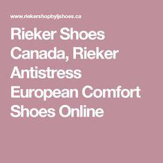 Rieker Shoes Canada, Rieker Antistress European Comfort Shoes Online