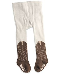 Bootzie Infant Tights - 6-18 months. Im not really into cowboys and stuff but these are too cute!