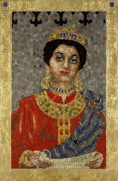 Lilian Broca - Queen Esther With Scroll