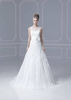 Picture of Fargo Wedding Dress - Blue by Enzoani 2013 Collection