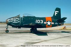 North American FJ-1 Fury (straight-wing predecessor of the USAF F-86 Sabre and Navy FJ-2)