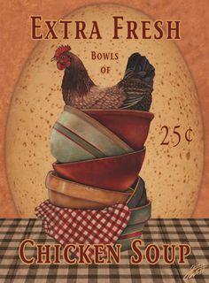 Chicken  Soup ... Gloria West