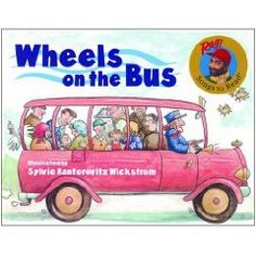 Wheels On The Bus (Turtleback School & Library Binding Edition) (Raffi Songs to Read (Library)) Flannel Board Stories, Felt Board Stories, Felt Stories, Flannel Boards, Toddler Books, Childrens Books, Baby Books, Bus Safety, Safety Rules