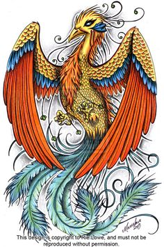 Pheonix Design by onksy.deviantart.com on @deviantART