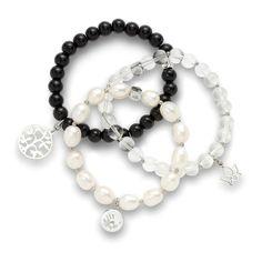 Bestellen Sie Ihr Leonardo Armband Infinita günstig im Jeweller Shop. #pearls #leonardo #armband #bracelet