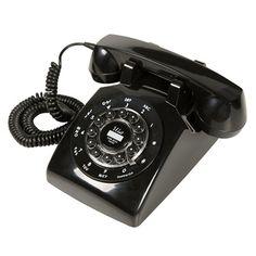 Telefone Retrô Classic London Preto. R$259