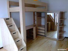 łóżka piętrowe łózka na antresoli