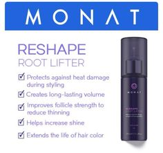 MONAT Volume System products are designed to work together to increase hair density, strength and manageability. aprilcohen.mymonat.com