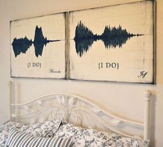 How to Create Art Using a Voice Recording of Your Wedding Vows