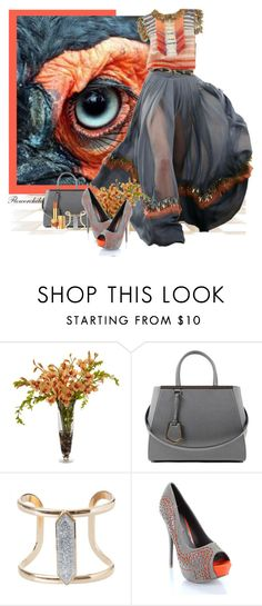 """Eye See You - Bird Mimicry"" by flowerchild805 ❤ liked on Polyvore featuring Chanel, Neiman Marcus, Fendi, Wild Diva and Estée Lauder"