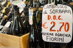 """What is Lambrusco – Italy's Secret Wines"" by @husbandintow"