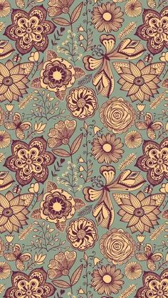 Immagine tramite We Heart It https://weheartit.com/entry/155872324/via/17967891 #background #brown #butterfly #flowers #wallpaper #turkis