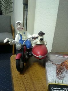 Wallace and Gromit I love them.
