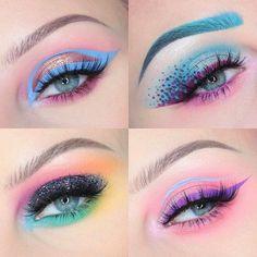 Makeup looks – Lush Makeup Ideas Makeup Goals, Makeup Inspo, Makeup Art, Makeup Inspiration, Makeup Brush, Kawaii Makeup, Cute Makeup, Pretty Makeup, Pastell Make-up