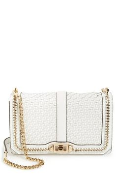 Rebecca Minkoff  Love  Woven Leather Crossbody Bag available at  Nordstrom  Quilted Leather d9ede545c6340