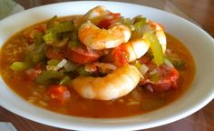 Authentic Shrimp Gumbo with Fresh Gulf Shrimp