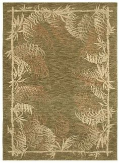 """Shaw Tommy Bahama Home Nylon Bengali Border 2'6"""" x 7'9"""" Runner Light Green Area Rug by Shaw. $349.00. Tommy Bahama Home Nylon Bengali Border is an area rug by Shaw. It is a 2'6"""" x 7'9"""" runner area rug with vendor described color of light green with contemporary style."""