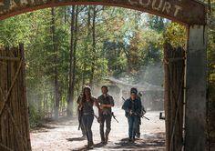 Michonne Rick Tara Oceanside The Walking Dead Season 7 Episode 15