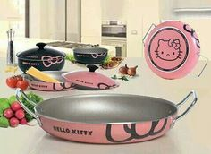 hello kitty cooking pans