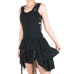 Vestido Gótico Algodón