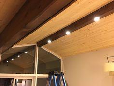 Classic Wood Paneling Ceiling #basementdropceilinglightingideas