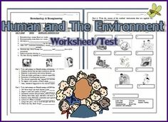 Human and The environment Worksheet/Test 1. Identify Natural and Artificial Materials 2. Identify  Biodegradable and Non-biodegradable materials3- 4 Fill in the blanks: Alloy, Mixed contents5. Write the advantage and disadvantage of using natural or artificial materials 6.