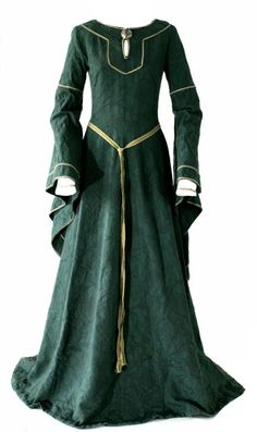** Beautiful Medieval Gown **