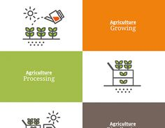 """Check out new work on my @Behance portfolio: """"Agriculture, Line icon"""" http://be.net/gallery/46836677/Agriculture-Line-icon"""