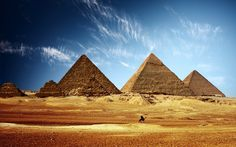 Pyramids of Giza, Egypt: This is the only one of the seven wonders of the ancient world still standing to this day. Photo: Egyptianstreets.