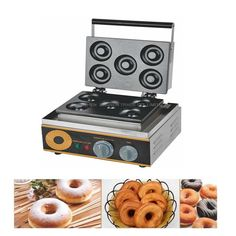 152.17$  Buy now - http://alir2p.worldwells.pw/go.php?t=32697317711 - 1PC Donuts Waffle maker FYX-5A 1500W Non-stick Electric Doughnut Donut Maker Iron Machine donut machine Hot