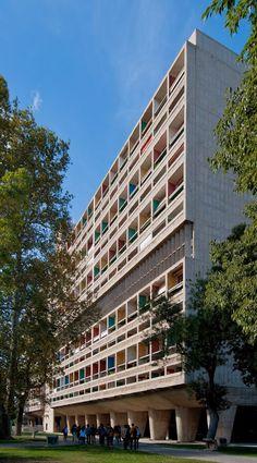 Unidade de Habitação de Marselha/ Unité d'habitation de Marseille (1947-1952) / Le Corbusier