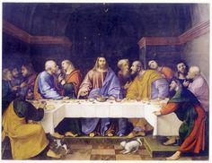 Girolamo Romanino, Ultima cena, Santa Giustina, Padova