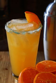 """Lewis Grizzard once famously said """"Clemson is just another Auburn with a lake."""" In that vein, what's good for the tigers of Clemson is perfect for Auburn as well: Tiger Tangerine Margarita, an orange Auburn Gameday Cocktail!"""