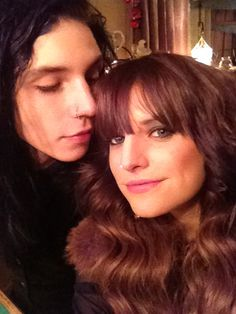 andy biersack and juliet simms. The way he looks at her.