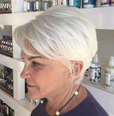 60 White Layered Pixie hair styles for women over 60 chic 60 Best Hairstyles and Haircuts for Women Over 60 to Suit any Taste Over 60 Hairstyles, Mom Hairstyles, Short Hairstyles For Women, Short Haircuts, Hairstyles 2018, Beautiful Hairstyles, Latest Hairstyles, Natural Hairstyles, Hairstyle Hacks