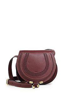 7bfbb8dd9245 Chloé - Small Marcie Leather Crossbody Bag
