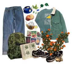 """""""Flower lover"""" by madcannibal on Polyvore featuring Comfort Colors, Levi's, NIKE and Pentel #comfortFashion"""