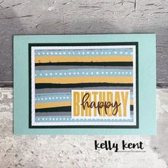 What a Year Memories & More – kelly kent Embossing Folder, Stripes, Rainbow, Colours, Memories, Happy, Projects, Blog, Pattern