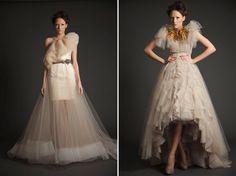 Vestidos de novia muy fuera de lo común - wedding inspiration