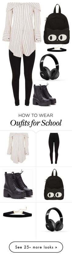 """""""The rabbit"""" by cassidyolney on Polyvore featuring Topshop and Beats by Dr. Dre"""