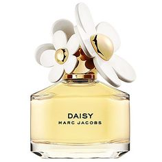 Marc Jacob Daisy    Notes:  Strawberry, Violet Leaves, Ruby Red Grapefruit, Gardenia, Violet Petals, Jasmine Petals, Musk, Vanilla, White Woods.