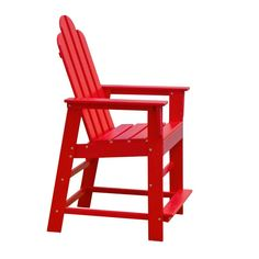 Have to have it. POLYWOOD® Recycled Plastic Long Island 24 in. Outdoor Counter Chair - $329.99 @hayneedle