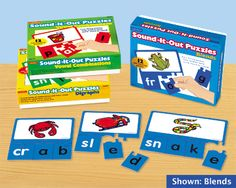 Sound-It-Out Phonics Puzzles - Complete Set at Lakeshore Learning
