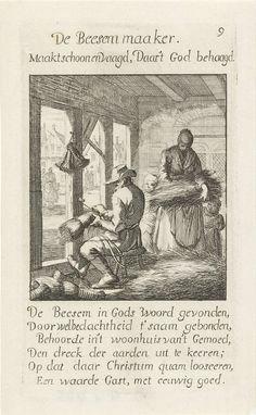 Bezemmaker, Caspar Luyken, Jan Luyken, Jan Luyken, 1694