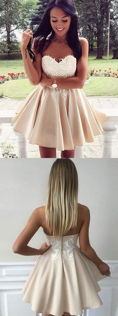 Sweetheart neck homecoming dresses,short prom dresses,cheap homecoming dresses