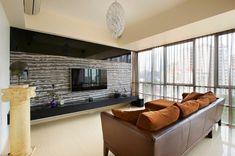 43 meilleures images du tableau Mur de foyer | Modern lounge, Tv ...