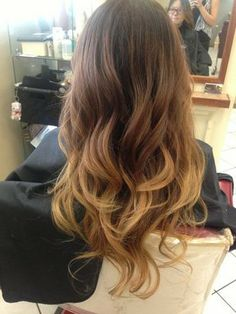 brown ombre | Red And Brown Ombre Hair